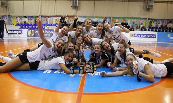 Βόλεϊ: MVP η Σταματία Κυπαρίσση, 6Χ6 για τον ΠΑΟΚ, που αναδείχθηκε Πρωταθλητής Ελλάδας Κ20 (photos)