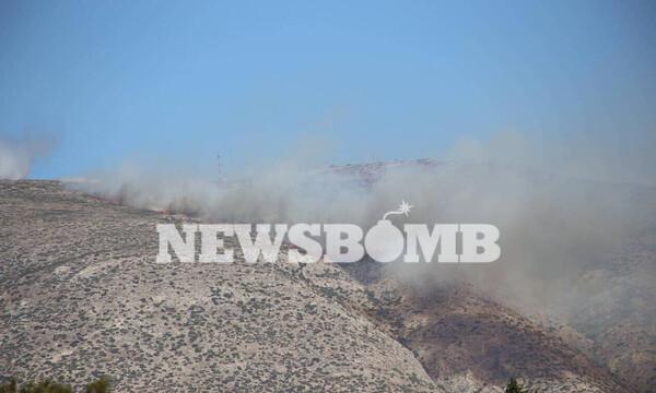 Φωτιά στα Καλύβια - Δήμαρχος Σαρωνικού: «Κάηκαν σπίτια» - Εκκενώσεις οικισμών