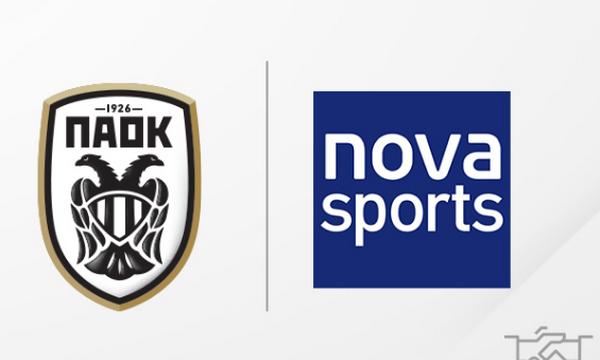 ΠΑΟΚ: Ανακοινώθηκε η συμφωνία με Nova για έναν χρόνο!