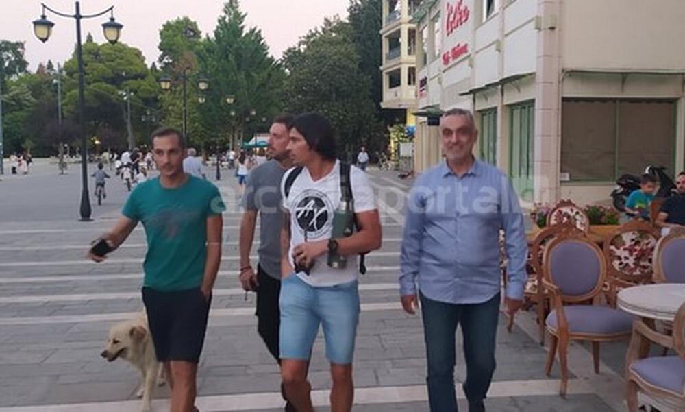 Παναρκαδικός: Οι πρώτες στιγμές του Μπλάνκο στην Τρίπολη (photos)