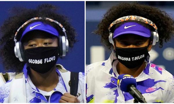 US Open: Το είπε και το έκανε η Ναόμι Οσάκα, που φόρεσε τις 7 μάσκες θυμάτων αστυνομικής βίας!