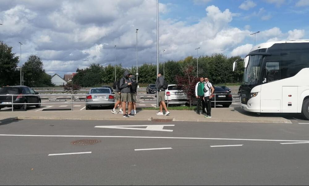 Παναθηναϊκός ΟΠΑΠ: Έφτασαν στη Λιθουανία οι «πράσινοι» (videos+photos)