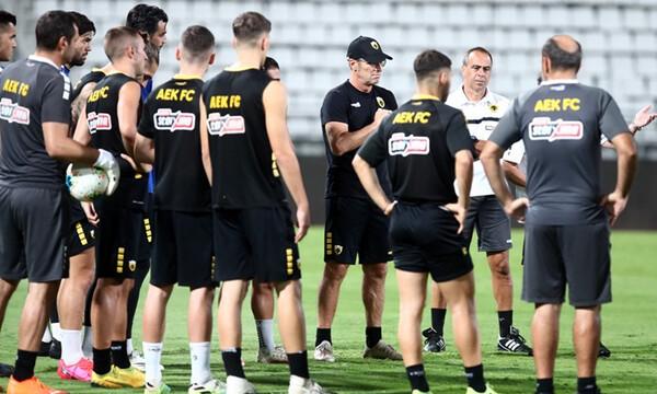 AEK-Ολυμπιακός: Έτοιμη η «Ένωση» για τον τελικό (photos)