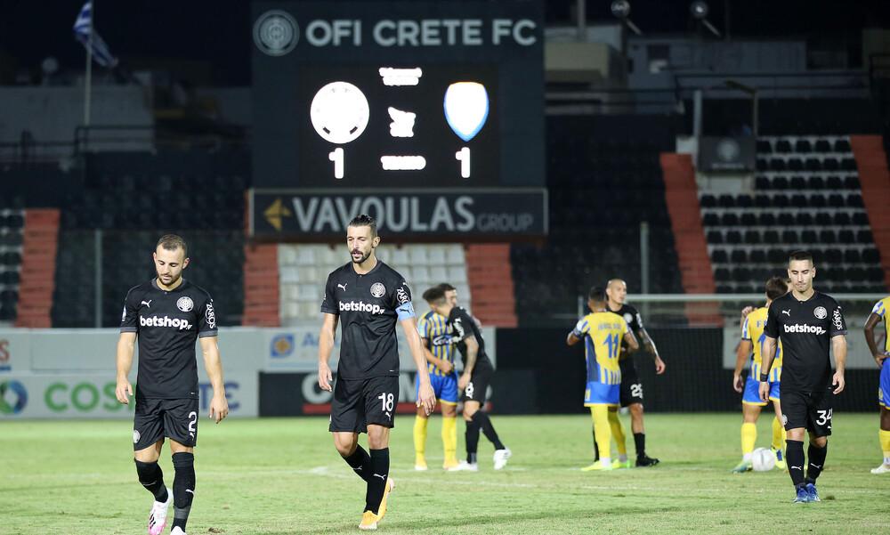 ΟΦΗ-Παναιτωλικός 1-1: Τα highlights από την ισοπαλία στο «Γεντί Κουλέ» (video+photos)