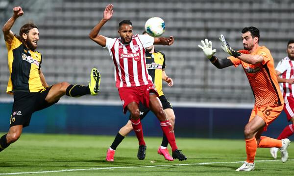 ΑΕΚ-Ολυμπιακός: Ο Τσιντώτας είπε «όχι» στον Μασούρα για το 0-2 (video)