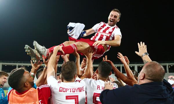 ΑΕΚ-Ολυμπιακός: Τα συγχαρητήρια Τσιμίκα και η περηφάνια για Τοροσίδη (photo)