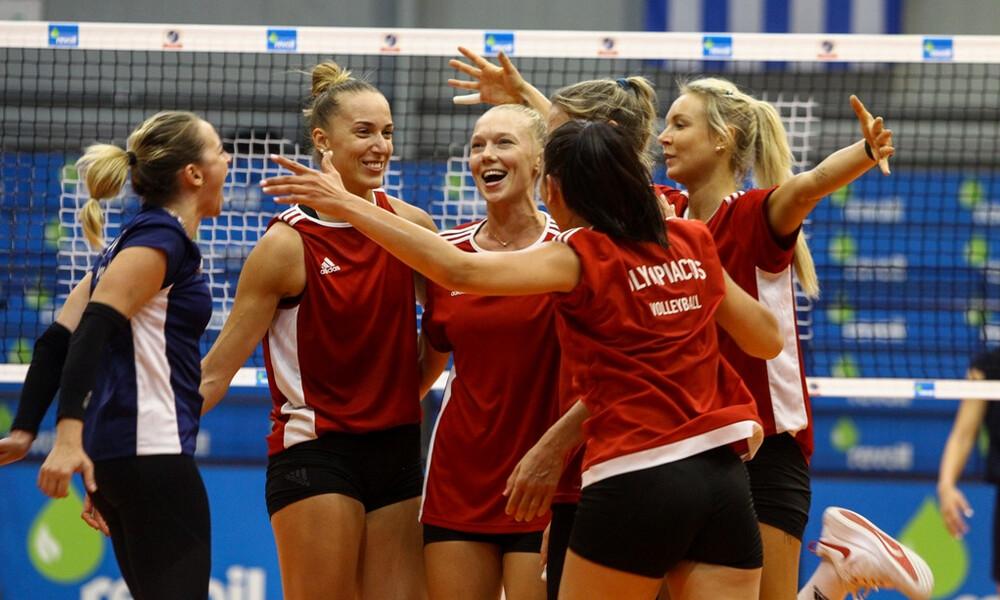 Βόλεϊ: Πρώτη φιλική νίκη για τα κορίτσια του Ολυμπιακού στο Μαρκόπουλο
