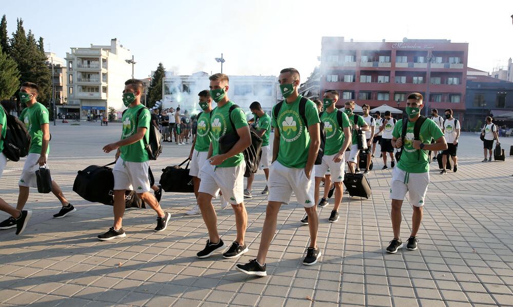 Αστέρας Τρίπολης - Παναθηναϊκός: Ντόπες των οπαδών με καπνογόνα (photos)