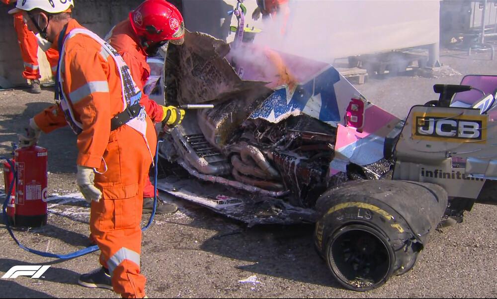 Τρομακτικό ατύχημα στη Formula 1: «Είναι ηλίθιος! Θέλει να μας σκοτώσει;» (video+photos)