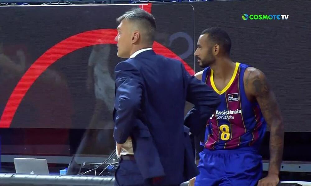 Ρεάλ Μαδρίτης-Μπαρτσελόνα: Τρελάθηκε ο Σάρας με τους παίκτες του (video)