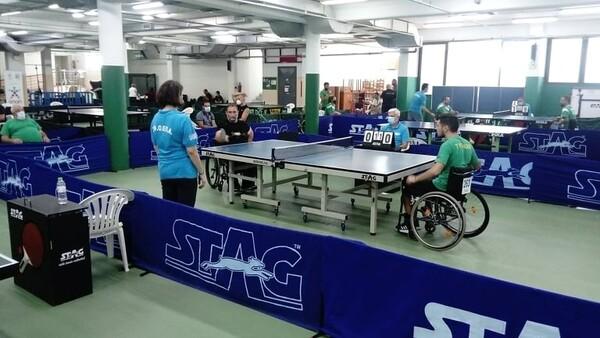 Πινγκ πονγκ: Επιτυχημένο και… ασφαλές το Πανελλήνιο πρωτάθλημα ατόμων με αναπηρίες