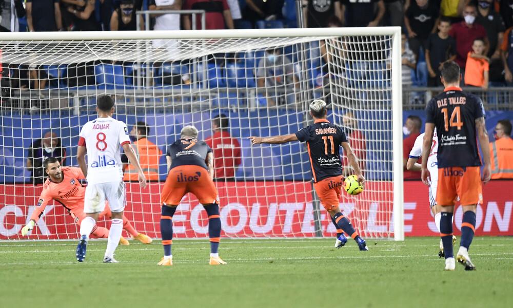 Ligue 1: Κέρδισε την Λιόν και συνεχίζει ακάθεκτη η Μονπελιέ (video)