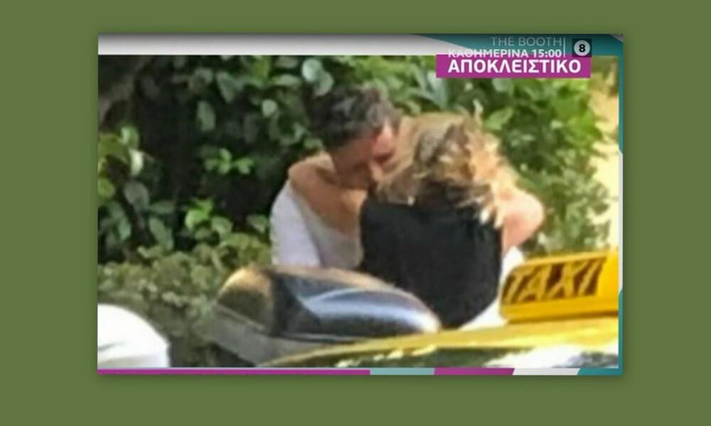 Ζουγανέλη-Δημητρίου: «Καυτά» φιλιά στη μέση του δρόμου-Έγκυος η Ελεονώρα;