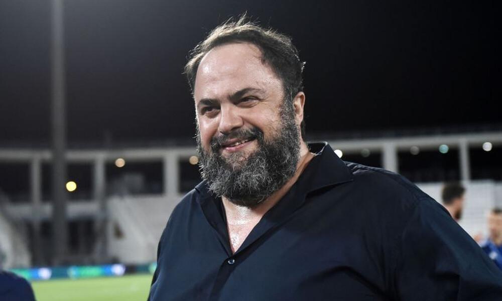 Μαρινάκης: «Να τα δώσετε όλα για τον Ολυμπιακό, δίπλα σας η διοίκηση»