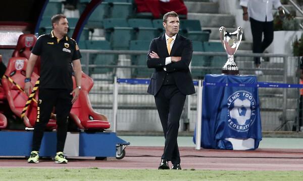 Καρέρα: «Αναλαμβάνω την ευθύνη για το Κύπελλο»