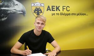 Ραντόνια: «Περήφανος που υπέγραψα στην ΑΕΚ, τη μεγαλύτερη ομάδα στην Ελλάδα»