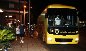 ΑΕΚ: Χωρίς προβλήματα και με… υποδοχή στο Αγρίνιο (photos)