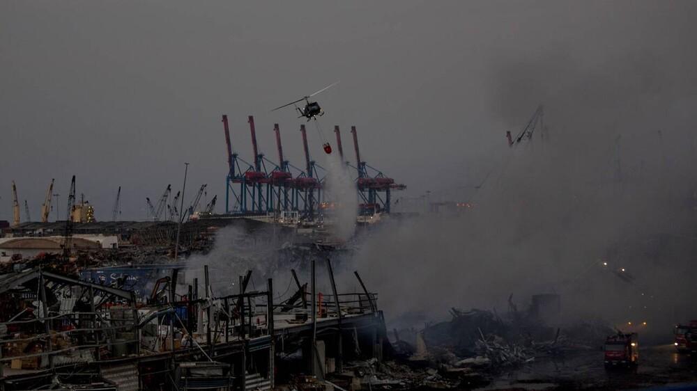Λίβανος: 1,3 τόνοι πυροτεχνημάτων εντοπίστηκαν στο κατεστραμμένο λιμάνι της Βηρυτού