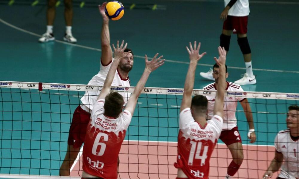 Βόλεϊ: Νίκησε την Polonia London με 3-0 σετ ο Ολυμπιακός