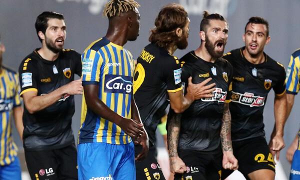 Παναιτωλικός-ΑΕΚ: «Φωτιά» στο Αγρίνιο, γκολ ο Λιβάγια, έπιασε πέναλτι ο Τσιντώτας (video+photos)