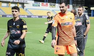 Παναιτωλικός-ΑΕΚ: Τα γκολ της νίκης από Μάνταλο και Λιβάγια (videos)