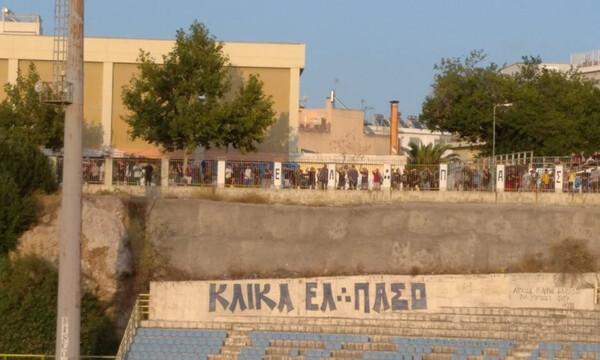 Παναθηναϊκός-Λεβαδειακός: Ξανά γεμάτη η… εξωτερική κερκίδα (photos)