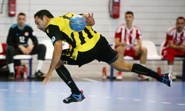 Handball Premier: Άλλο επίπεδο η ΑΕΚ, «ισοπέδωσε» τον Ολυμπιακό! (videos)