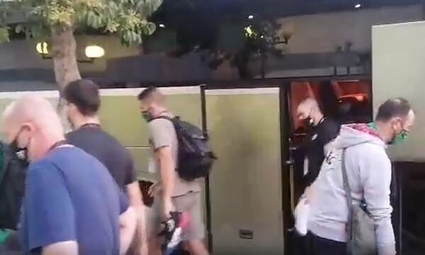 Στο Περιστέρι ο Παναθηναϊκός ΟΠΑΠ, απολύμανση ανάμεσα στα ματς (video)