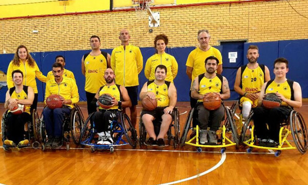 Μπάσκετ με αμαξίδιο: Την Πρώτη τους προπόνηση έκαναν οι μάγκες της ΑΕΚ