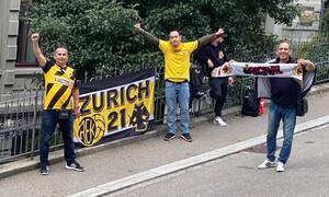 Σεντ Γκάλεν – ΑΕΚ: Η βόλτα που δεν έγινε κι οι οπαδοί στο ξενοδοχείο (photos)