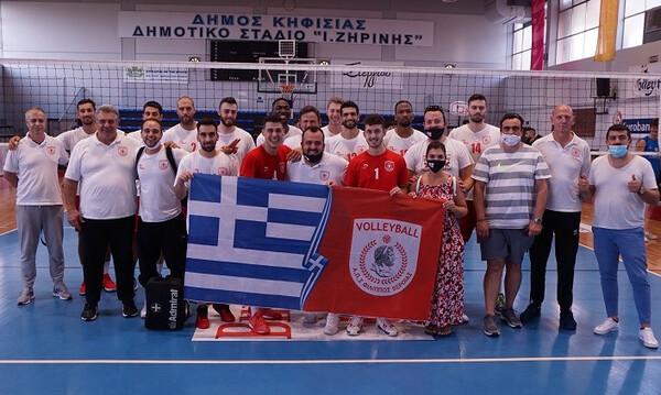 Βόλεϊ: Φινάλε στα φιλικά της Αθήνας με νίκη επί της Κηφισιάς για τον Φίλιππο Βέροιας
