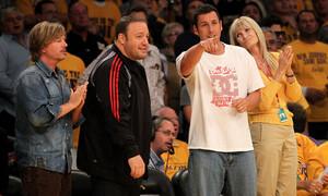 Ο Άνταμ Σάντλερ «έκλεψε» NBAer από τις προπονήσεις της ομάδας του!