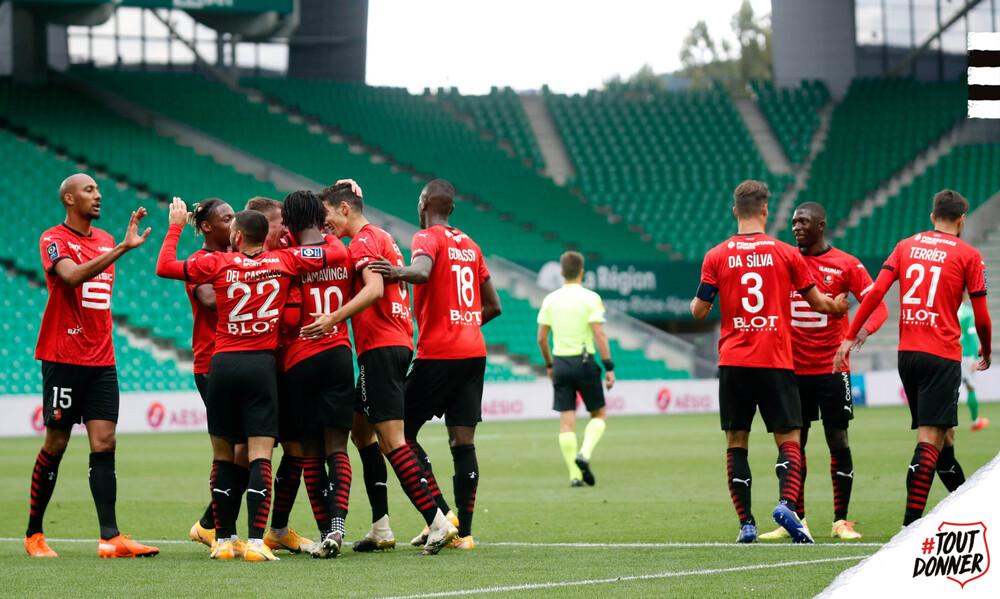 Ligue 1: Μόνη στην κορυφή η Ρεν (video)