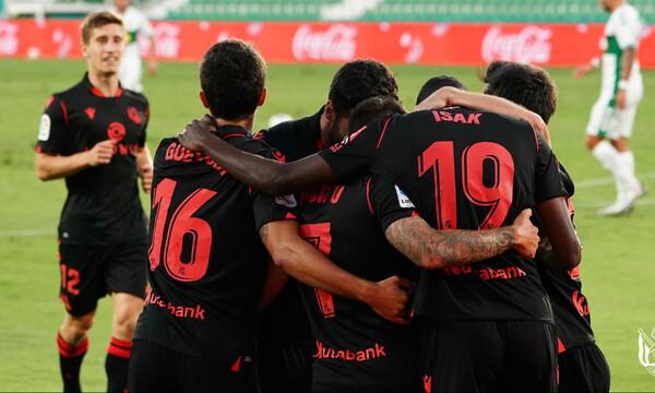 La Liga: Άνετα η Σοσιεδάδ (videos)