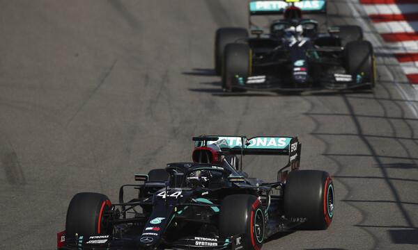 Formula 1: Ο Χάμιλτον κέρασε την πρωτιά στον Μπότας (video+photos)
