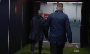 Έξαλλος ο Μουρίνιο έφυγε πριν τη λήξη του αγώνα και... θα κοιμηθεί στο γήπεδο (video+photos)