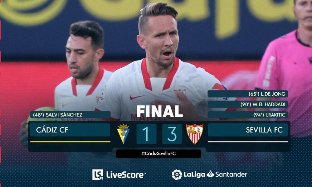 La Liga: Πρεμιέρα με αγχωτική νίκη για τη Σεβίλλη (video)