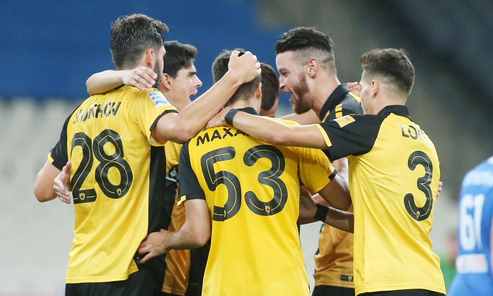 ΑΕΚ-Λαμία 3-0: «Σβηστή» νίκη πριν τα... γκάζια με Βόλφσμπουργκ