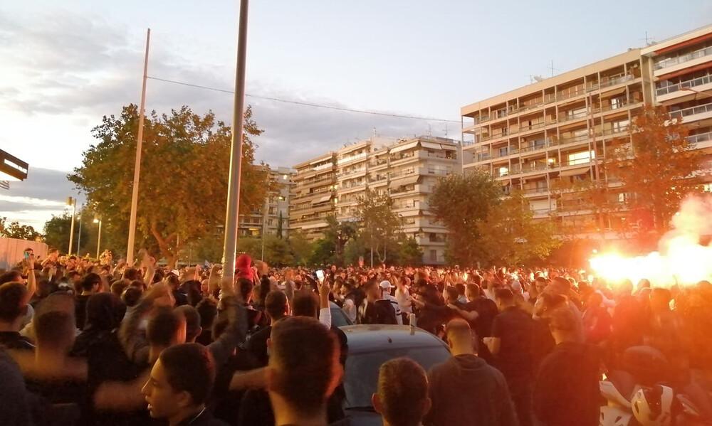 ΠΑΟΚ-Κράσνονταρ: Πανζουρλισμός και ασπρόμαυρη τρέλα στο Μακεδονία Παλλάς (photos+video)