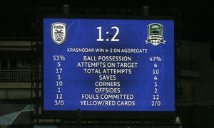 ΠΑΟΚ – Κράσνονταρ 1-2: Τα highlights του πικρού αποκλεισμού (video+photos)