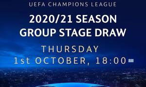 Live Streaming η κλήρωση του Ολυμπιακού στο Champions League - Πόρτο και Σίτι οι πρώτοι αντίπαλοι