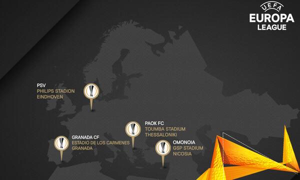 Europa League: Το προφίλ των αντιπάλων του ΠΑΟΚ