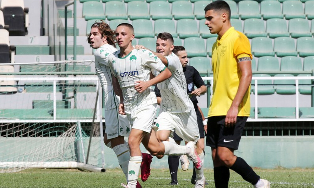 Super League Κ19: Ματσάρα στη Λεωφόρο, έσωσε το βαθμό ο Παναθηναϊκός!  (Photos)