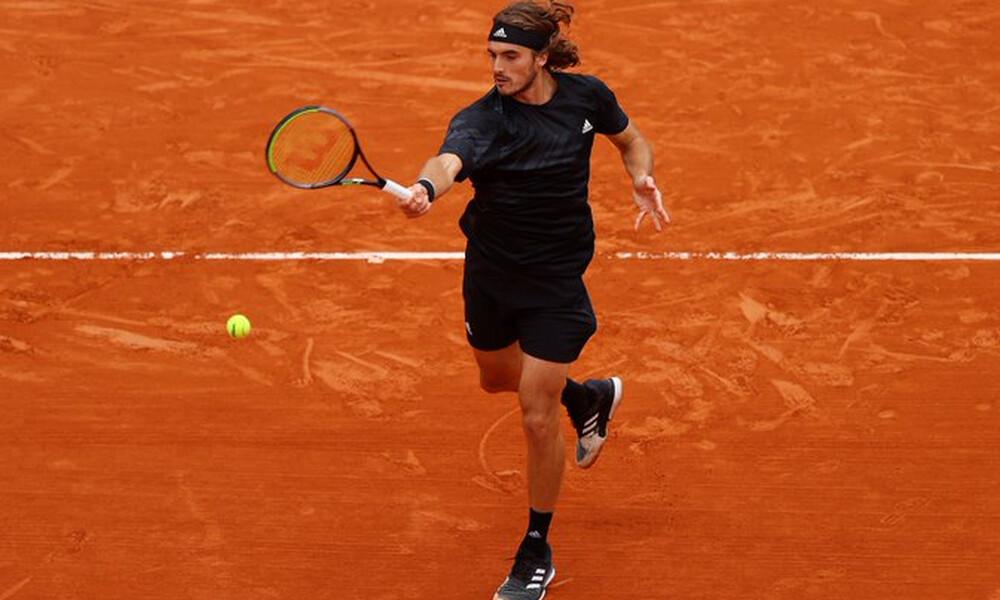 Roland Garros: Άνετη πρόκριση στους «16» για τον Στέφανο Τσιτσιπά (video)