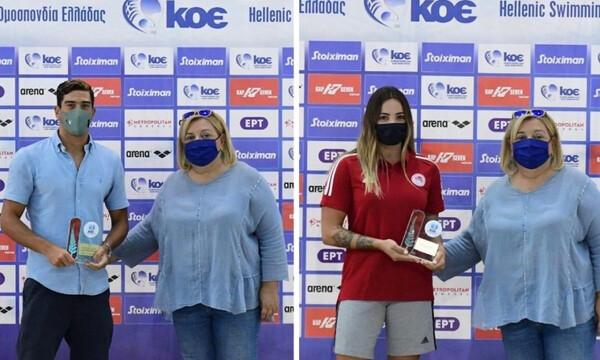 Πόλο: Βραβεύτηκαν οι κορυφαίοι αθλητές στα πρωταθλήματα Α1 Ανδρών και Α' Γυναικών (photos)