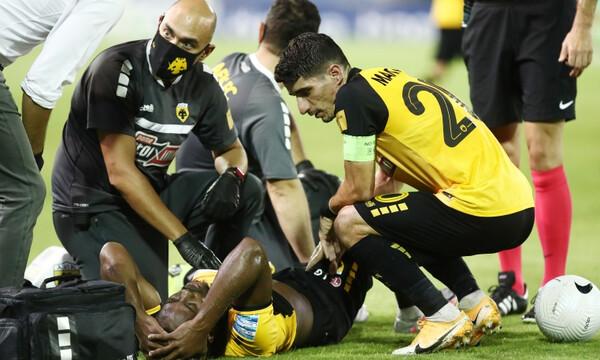 Ατρόμητος-ΑΕΚ: Αποχώρησε με τραυματισμό ο Λιβάι (photos)