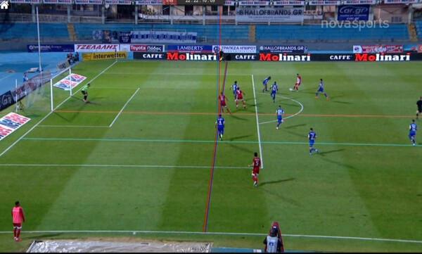 ΠΑΣ Γιάννινα - Ολυμπιακός: Το γκολ του Χασάν που ακυρώθηκε (photos+video)