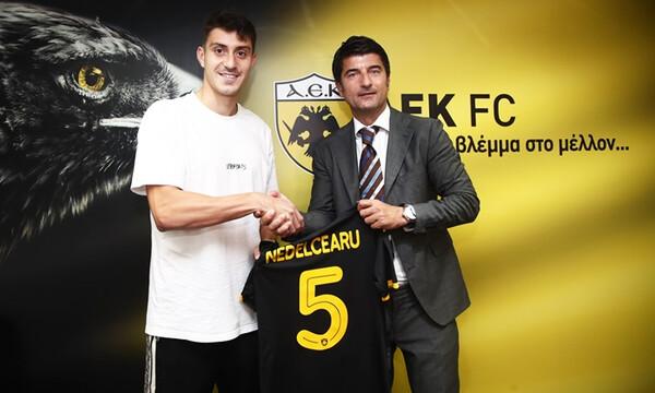 Επίσημο: Παίκτης της ΑΕΚ ο Νεντελτσιάρου!