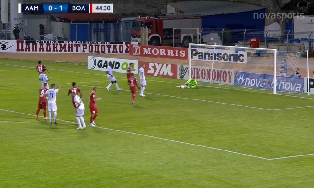 Λαμία-Βόλος 0-1: Ο Γκαραβέλης νίκησε στο πέναλτι τον Μπιανκόνι, άκυρο από VAR... (video)