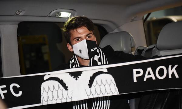 ΠΑΟΚ: Στη Θεσσαλονίκη ο Μουργκ για υπογραφές (photos)